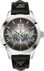Marc Ecko The Rykstar Black Leather Strap E08510M1