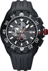 Nautica Mens Watch Sport Black Rubber Strap A28004G