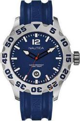Nautica Mens Watch Blue Rubber A14601G