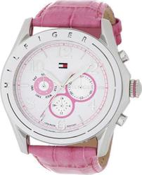 Tommy Hilfiger Avalon Multifunction Leather Strap Watch Pink 1781055