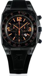 Time4ever Chronograph Tachymeter Black Strap T4E0110