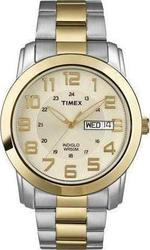 Timex Stainless Steel Bracelet Gold Dial T2N439