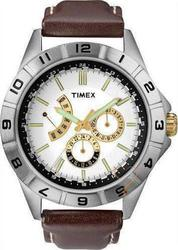 Timex Retrograde Multifunction Brown Leather T2N517