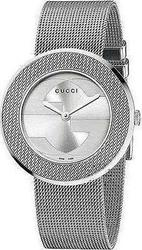 Gucci Ladies U-Play Stainless Steel Mesh Bracelet YA129407
