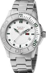 Gucci Mens Watch G-Timeless Collection Stainless Steel Bracelet YA126232