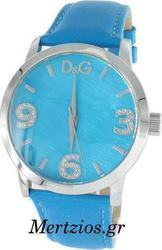 Dolce & Gabbana Pose Blue Leather Strap Watch DW0761