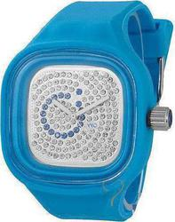 Oyyo Juicy Square Luxury Lagoon Rubber Strap ST-JC-2013