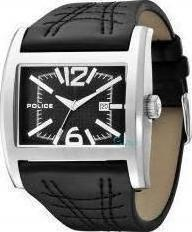 Police Dynamo Men's Black Dial Sports Watch 12170JSB-02A