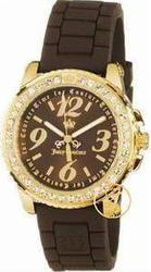Juicy Couture Pedigree Brown Rubber Strap 1900708