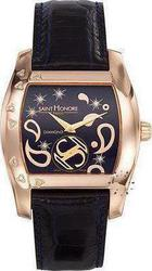 Saint Honore Monceau Lady Side Black Leather Strap 7230863BYDF