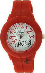 Angel Red Rubber Strap AP1410R