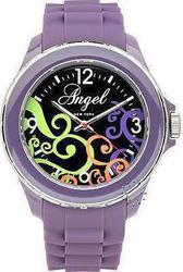 Angel Purple Rubber Strap - AP0478PR1