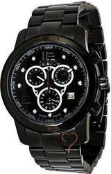 Symbol Chronograph Black Stainless Steel Bracelet SY9145BB