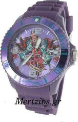 Ed Hardy Matterhorn Winged Horse Purple Watch MH-WH