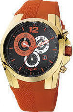 Vogue Chronograph Orange Rubber Strap 2020150081.6