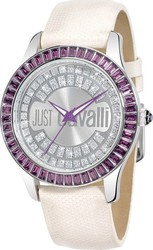 Just Cavalli Ice White Leather Strap R7251169015