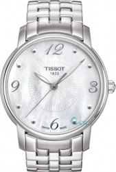 Tissot Τ-Trend Round Stainless Steel Bracelet T052.210.11.117.00