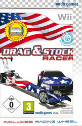 Drag & Stock Racer (w/wheel) Wii