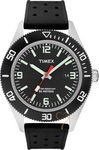 Timex Originals Sport Black Rubber Strap T2N534
