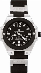Chase Durer Conquest Automatic Black Rubber 777.2BS