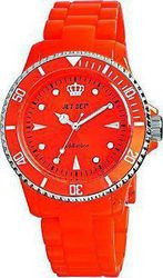 Jet Set Addiction Orange Rubber Strap J16354-18