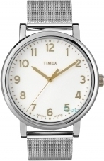 Timex Originals Easy Reader Stainless Steel Bracelet T2N600