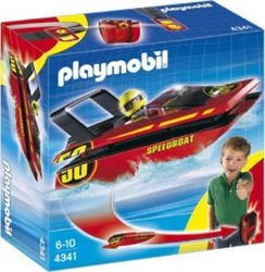 Playmobil Click & Go Ταχύπλοο Σκάφος 4341