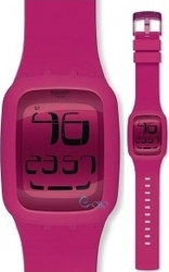 Swatch Touch Pink Rubber SURP100
