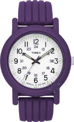 Timex Originals Camper Purple Rubber Strap T2N716
