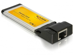 DeLock Express Card to Gigabit LAN