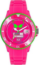 Ice-Watch FMIF Fluo Pink Head Big Big Rubber Strap - FM.SS.FPH.BB.S.11