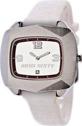 Miss Sixty Psychedelia White Rubber Strap SFL003