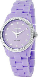Brosway Crystal Lady Lilac Dial and PVC Bracelet WTC09