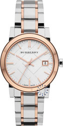Burberry Ladies Two Tone Stainless Steel Bracelet BU9105