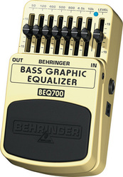 Behringer BEQ-700 Bass Graphic Equalizer