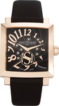 Saint Honore Orsay Grand Lady Black Leather Strap 8630278NBDR