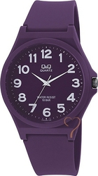 Q&Q Collection Purple Silicon Strap VR02J007Y
