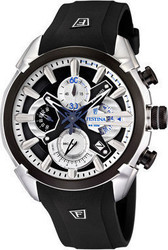 Festina Black Strap Watch F6819/4