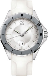 Calvin Klein Play White Limited Edition Rubber Strap K2W21YM6