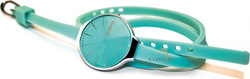 Hoops Glam Gummy Turquoise Rubber Strap 2233LA05