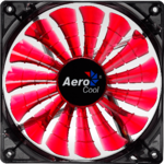 Aerocool Shark Fan 120mm LED Devil Red Edition