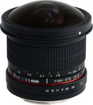 Samyang 8mm f/3.5 Asph IF MC Fisheye CSII DH (AE) (Nikon)