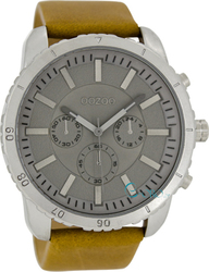 Oozoo Timepieces Light Brown Leather Strap C5196