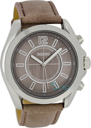 Oozoo Timepieces Brown Leather Strap C5322