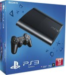 Sony PlayStation 3 (PS3) Super Slim 12GB Charcoal Black