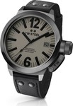 TW Steel Canteen Style Black Leather Strap CE1052