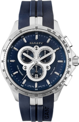 Gant Ashton Blue Rubber W10856 Chronograph Strap -