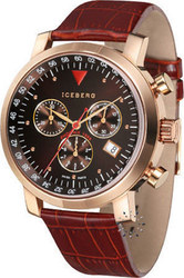 Iceberg Phoenix Red Leather Strap - 602-92