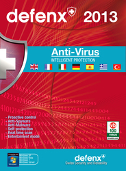 Defenx Anti-Virus 2013 (1 Users, 1 Year)