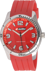 Lotto Sport Red Rubber Strap LΜ0023-03